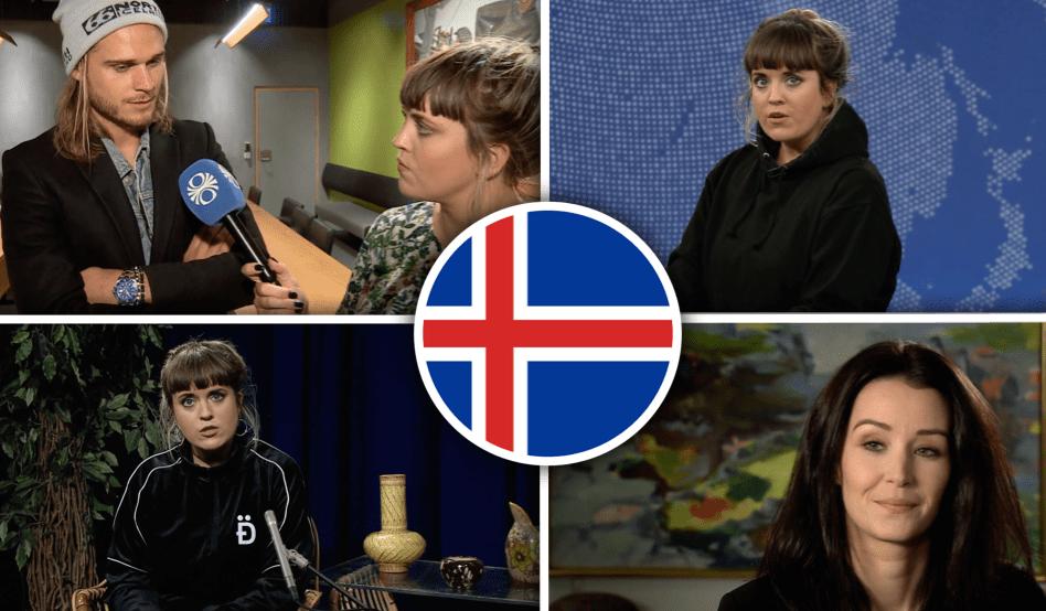 """Rúrik Gísla og Unnur Birna svöruðu stórum spurningum hjá Berglindi Festival: """"Erum við að verða ljótari?"""""""