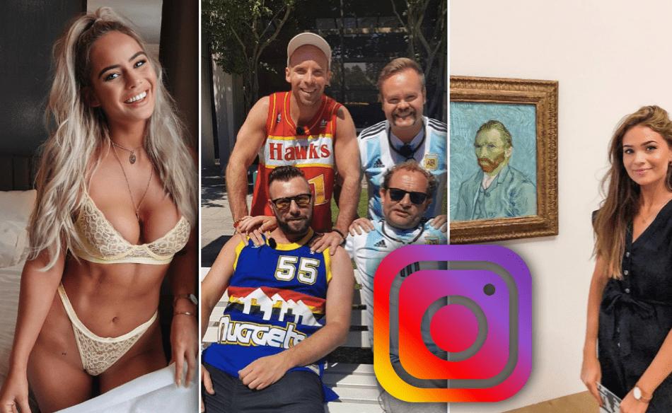 Þetta eru myndirnar sem slógu í gegn á Instagram um helgina - Sólsetur í Dubai og kindur í Færeyjum