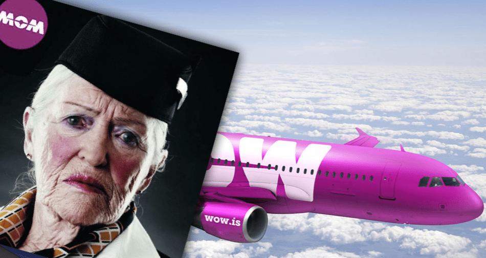 """Halldór Högurður með hugmynd að nýju nafni á sameinað flugfélag: """"Icelandair var aðallega þekkt fyrir aldraðar flugfreyjur"""""""