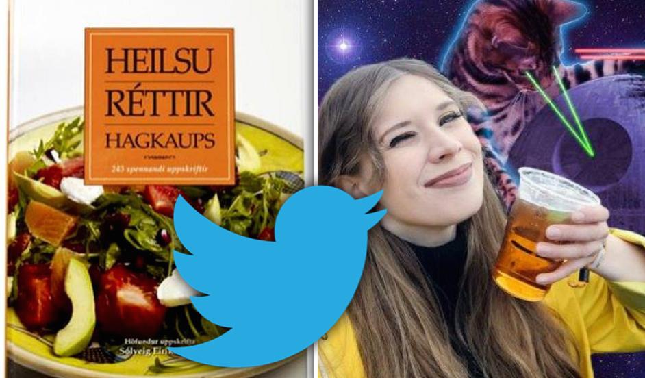 """Fólkið á Twitter fór á kostum við að finna titil á uppskriftarbók: """"Stórir strákar fá gráðaost"""""""
