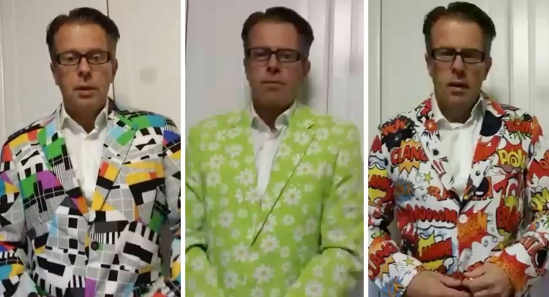 Best klæddi aðstoðarskólameistari landsins slær í gegn með jakkasafnið á Snapchat