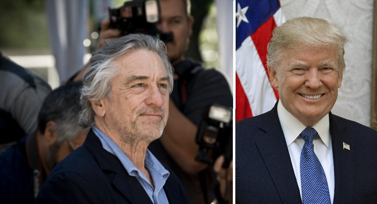 Robert De Niro lét Trump heyra það á verðlaunahátíð í Bandaríkjunum