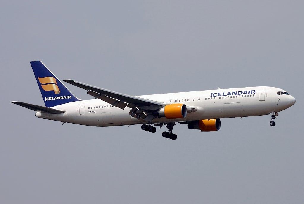 Lést í flugi Icelandair til Bandaríkjanna