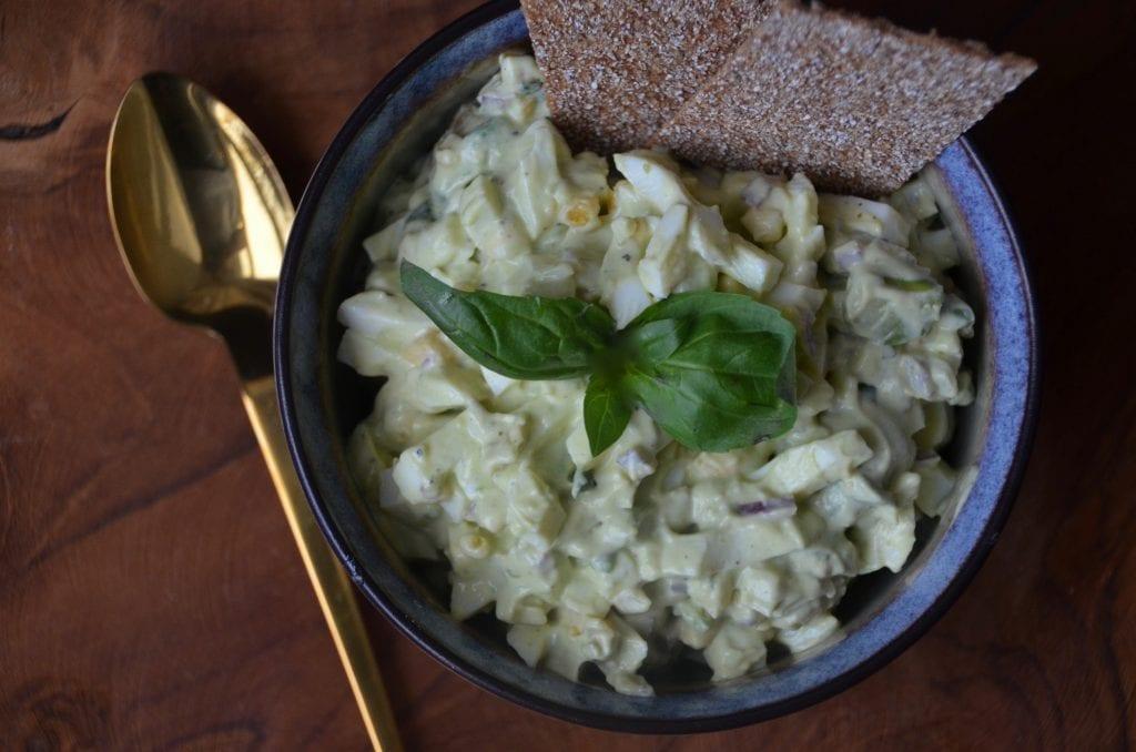 Avocado eggjasalat