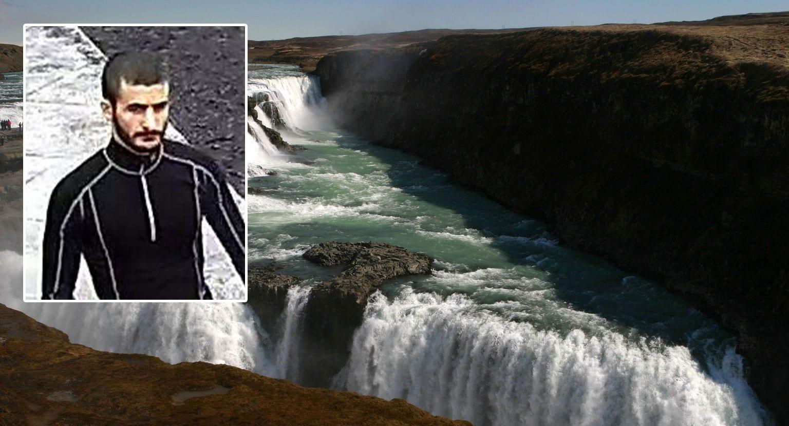 Maðurinn sem féll í Gullfoss hét Nika Begades
