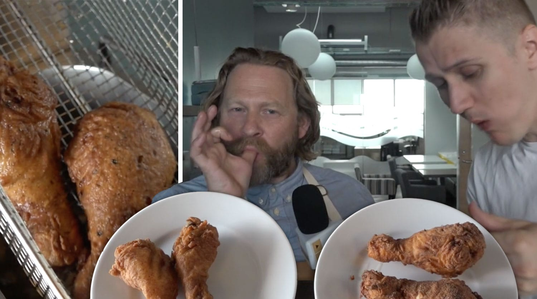 Prófuðu leynilegu uppskriftina af kjúklingnum á KFC sem lak á netið