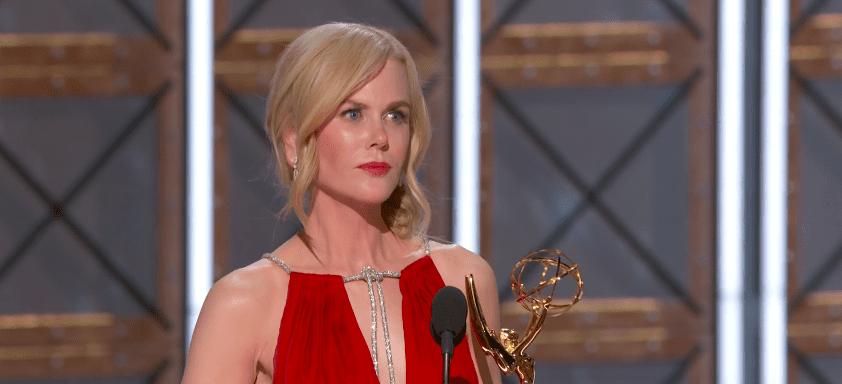 Myndband: Nicole Kidman vakti athygli á heimilisofbeldi í magnaðri ræðu þegar hún tók við Emmy verðlaunum
