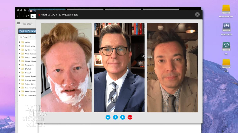Colbert og Fallon svara ummælum Trump Bandaríkjaforseta í sprenghlægilegu myndbandi