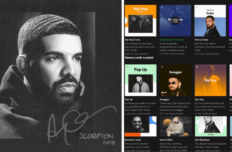 Áskrifendur Spotify krefjast endurgreiðslu vegna Drake
