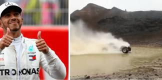 """Lewis Hamilton á Íslandi: """"Ótrúlega fallegur staður"""