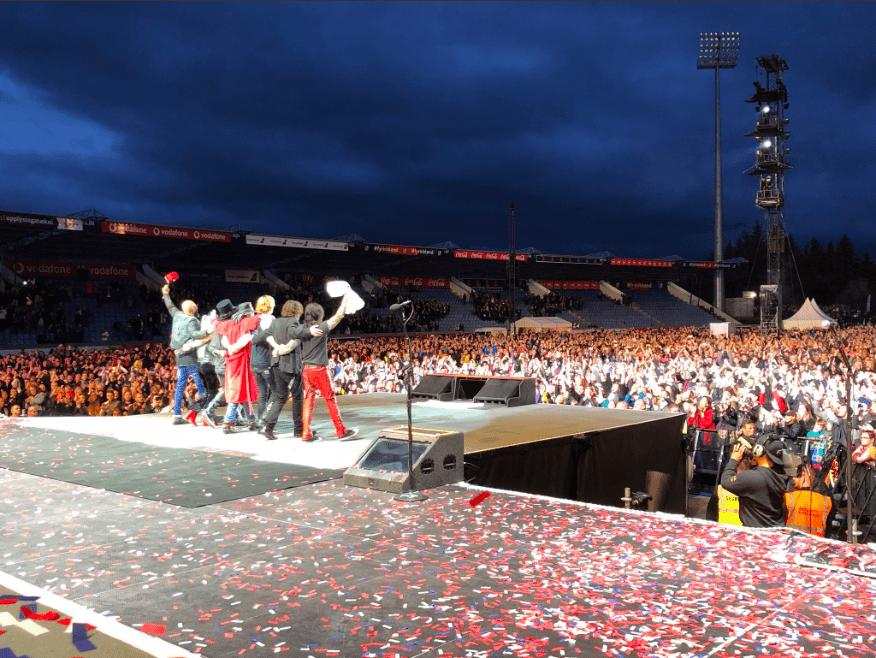 Skipuleggjendur Guns N' Roses þakka fyrir sig: Rúmlega 25 þúsund gestir fengu langþráðan draum sinn uppfylltan - á Íslandi