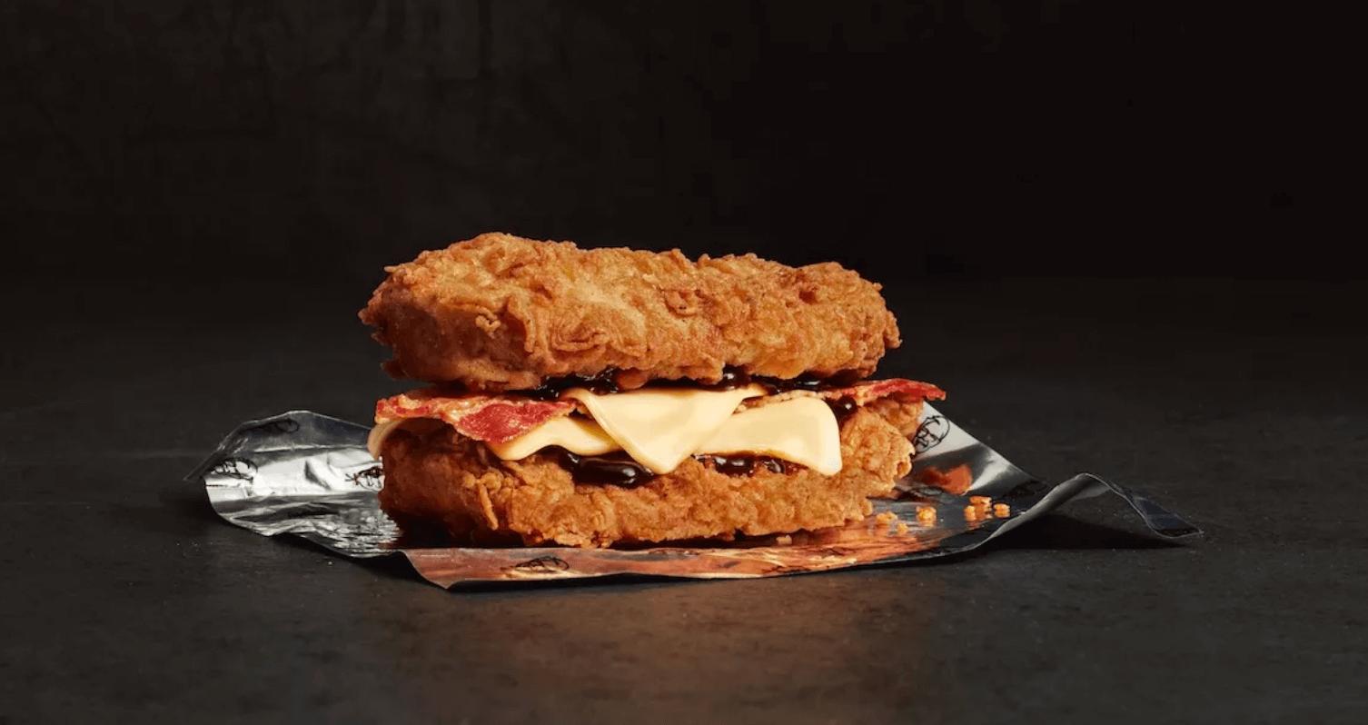 Furðuleg kjúklingaloka í boði á KFC á Íslandi átta árum eftir að hún var fyrst kynnt til sögunnar