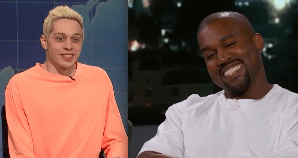 """Pete Davidson lætur Kanye West heyra það: """"Geðsjúkdómur ekki afsökun til að haga sér eins og fífl"""""""