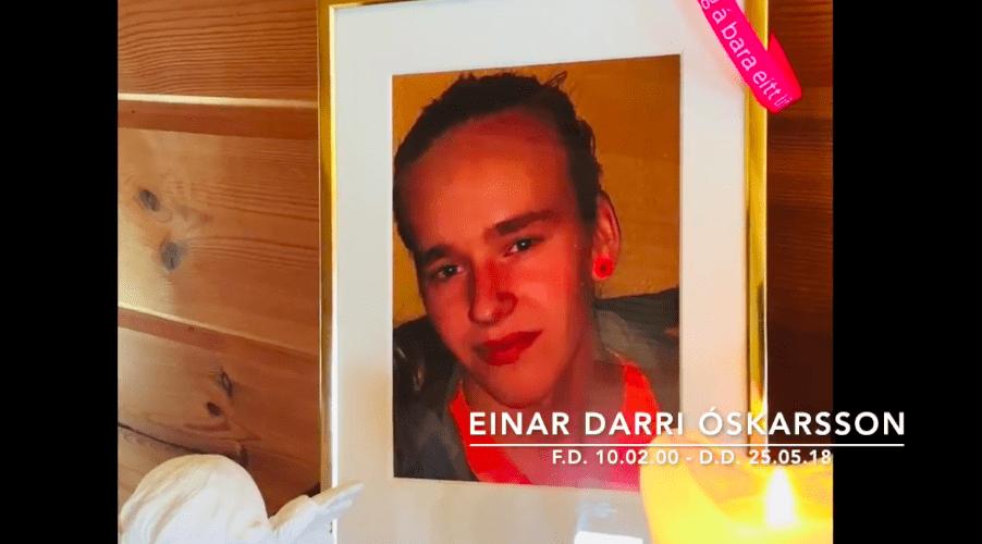 Minningarsjóður Einars Darra minnist 34 einstaklinga í átakanlegu myndbandi