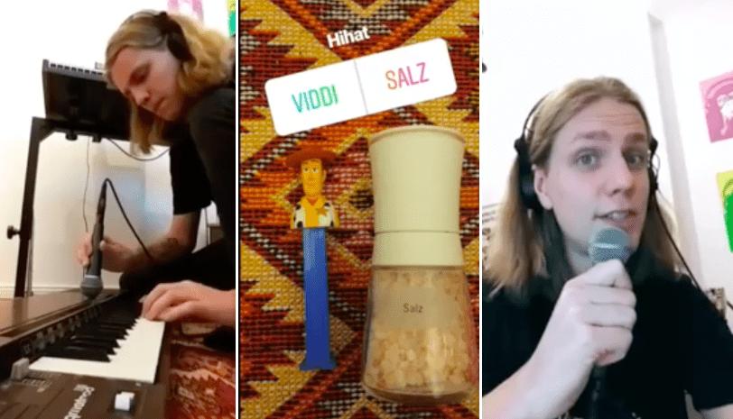Daði Freyr samdi rapplag með hjálp frá fylgjendum sínum á Instagram: Notaði geimskip