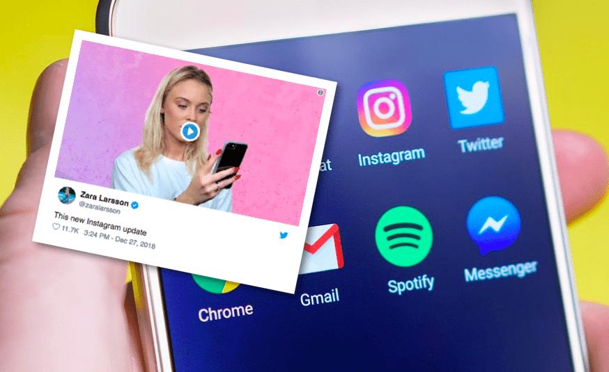 """Ný uppfærsla á Instagram var misheppnuð tilraun: """"Hvað kom fyrir Instagram????"""""""