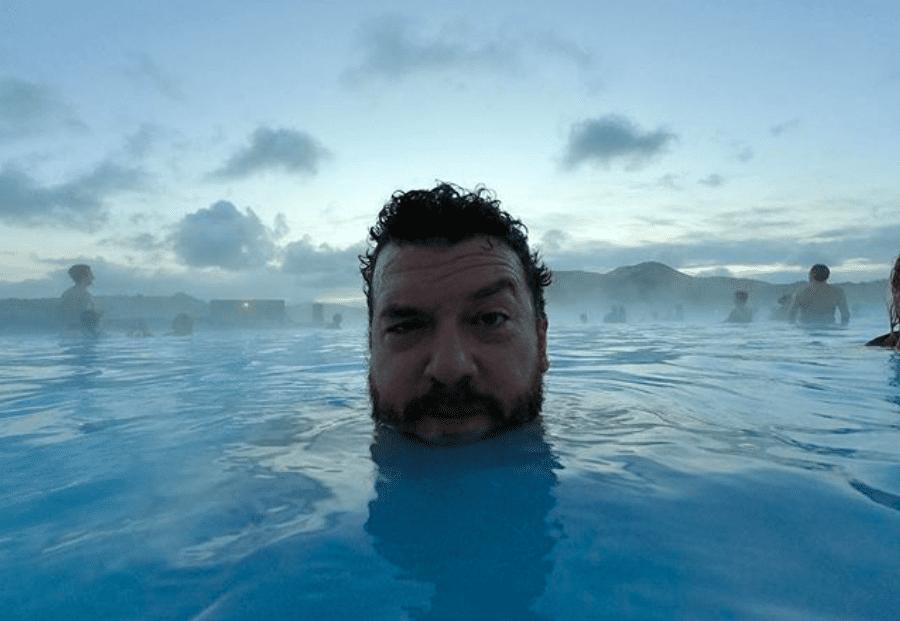 Danny McBride eyddi áramótunum á Íslandi