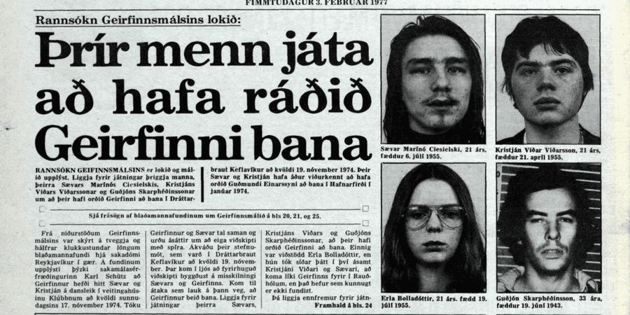 Örskýring: Guðmundar- og Geirfinnsmálið útskýrt