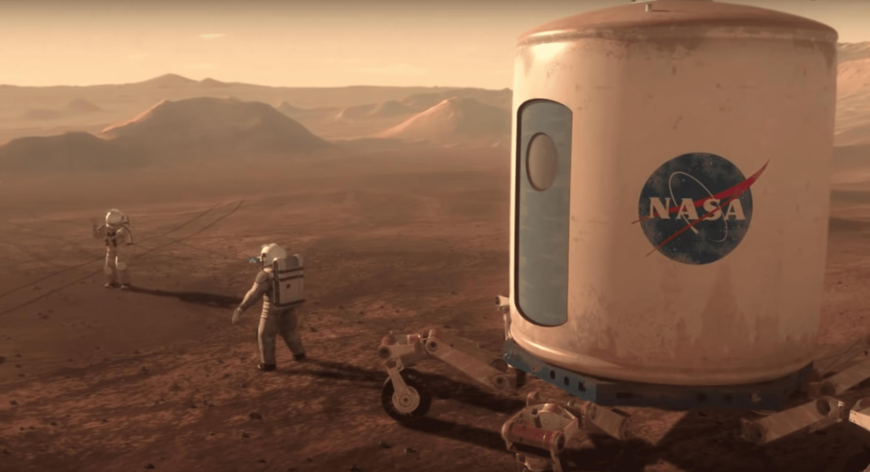 Sjáðu nýja myndbandið frá NASA