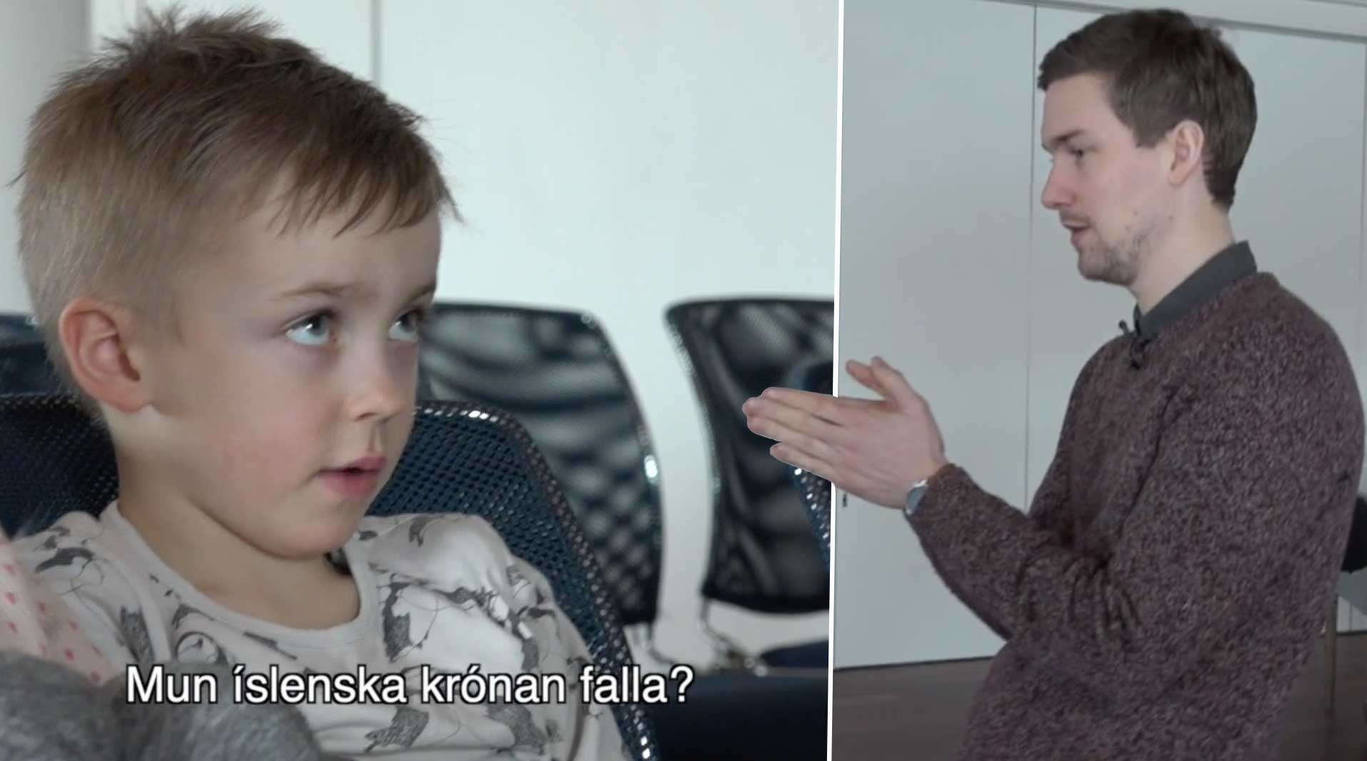 Hagfræðingur útskýrir afnám hafta fyrir leikskólabörnum