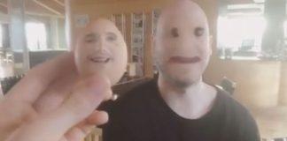 Eggið greip andlit Arnórs