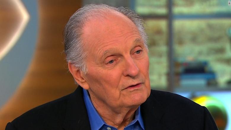 Alan Alda greindist með Parkinsonsjúkdóminn