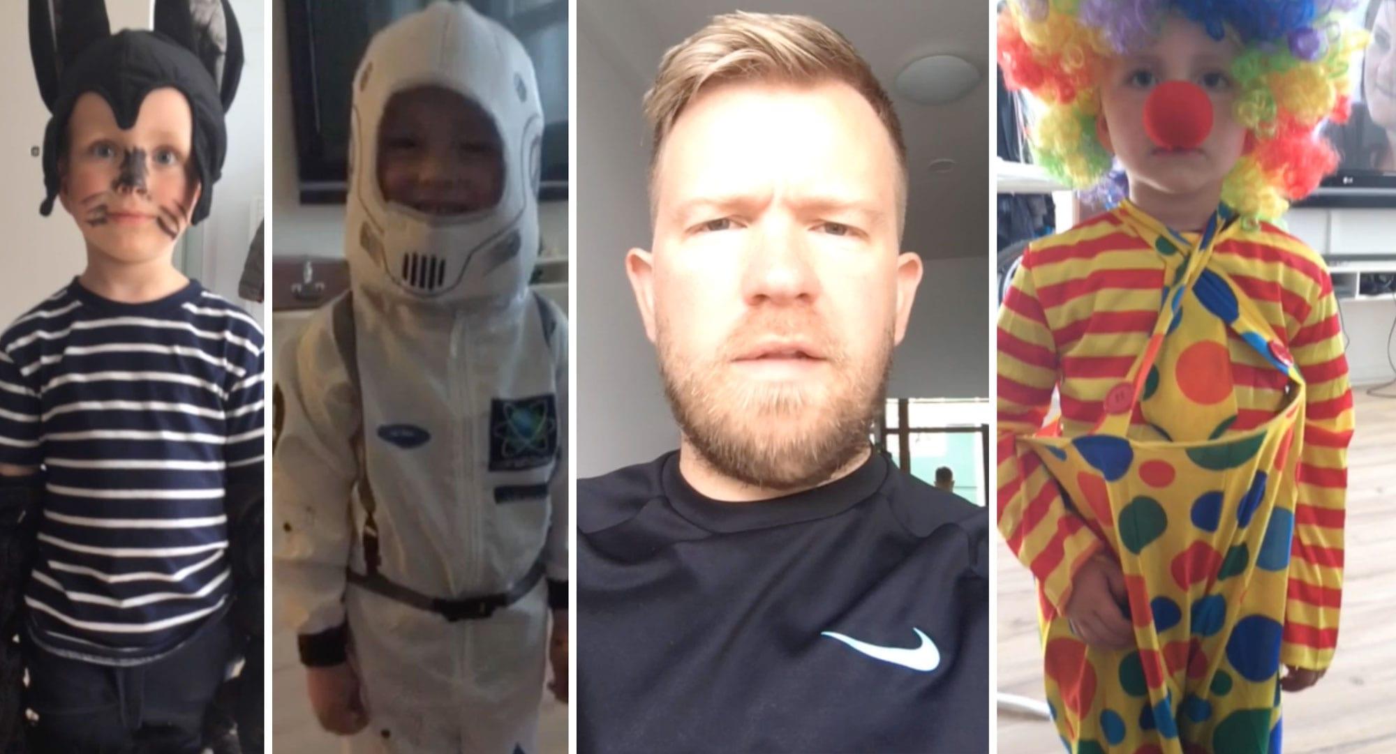 """Hinn fjögurra ára gamli Baldvin slær í gegn á Snapchat: """"Hann er yfirnátturulega mikið krútt"""""""