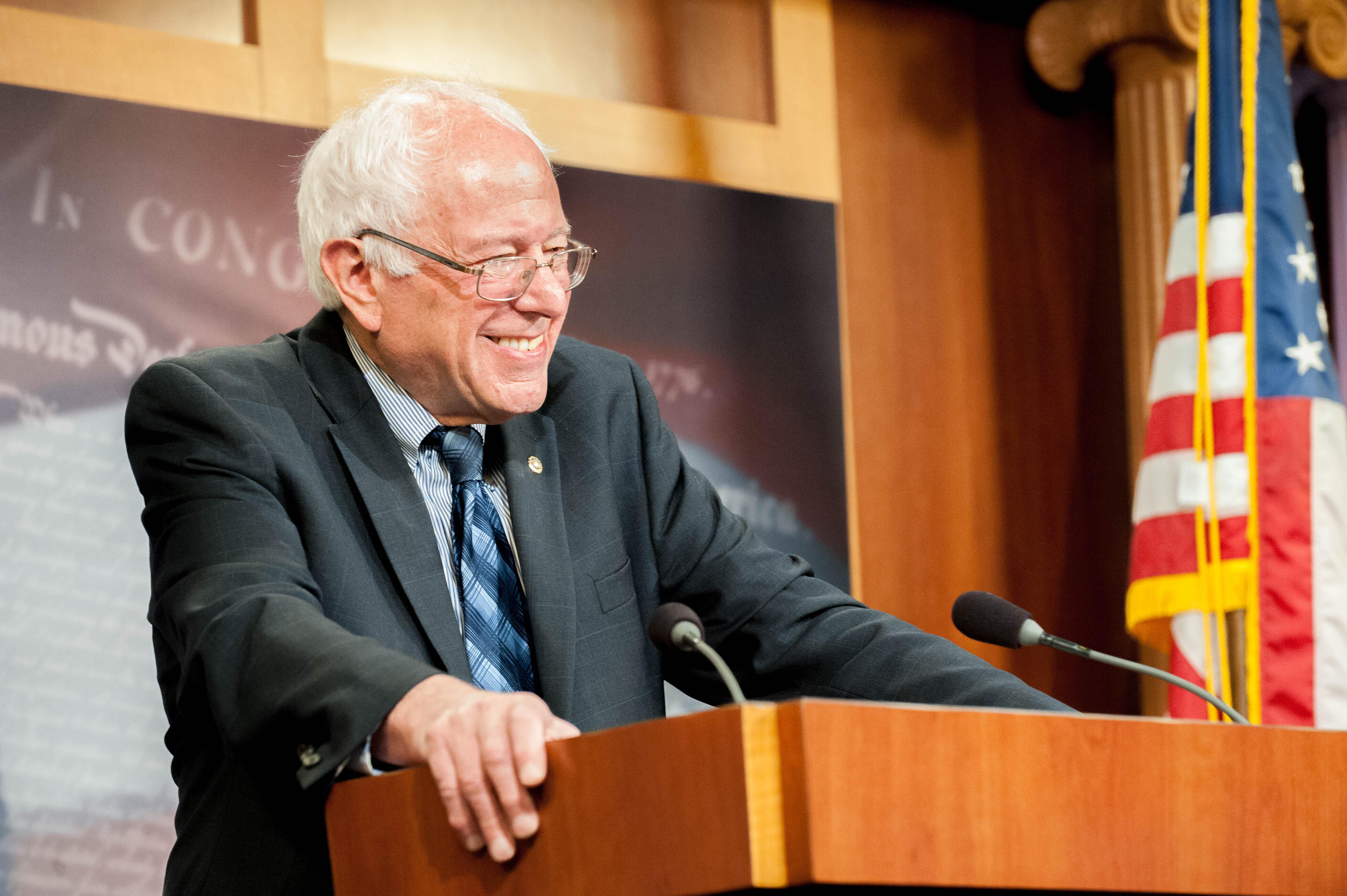 Bernie Sanders reynir aftur við forsetann