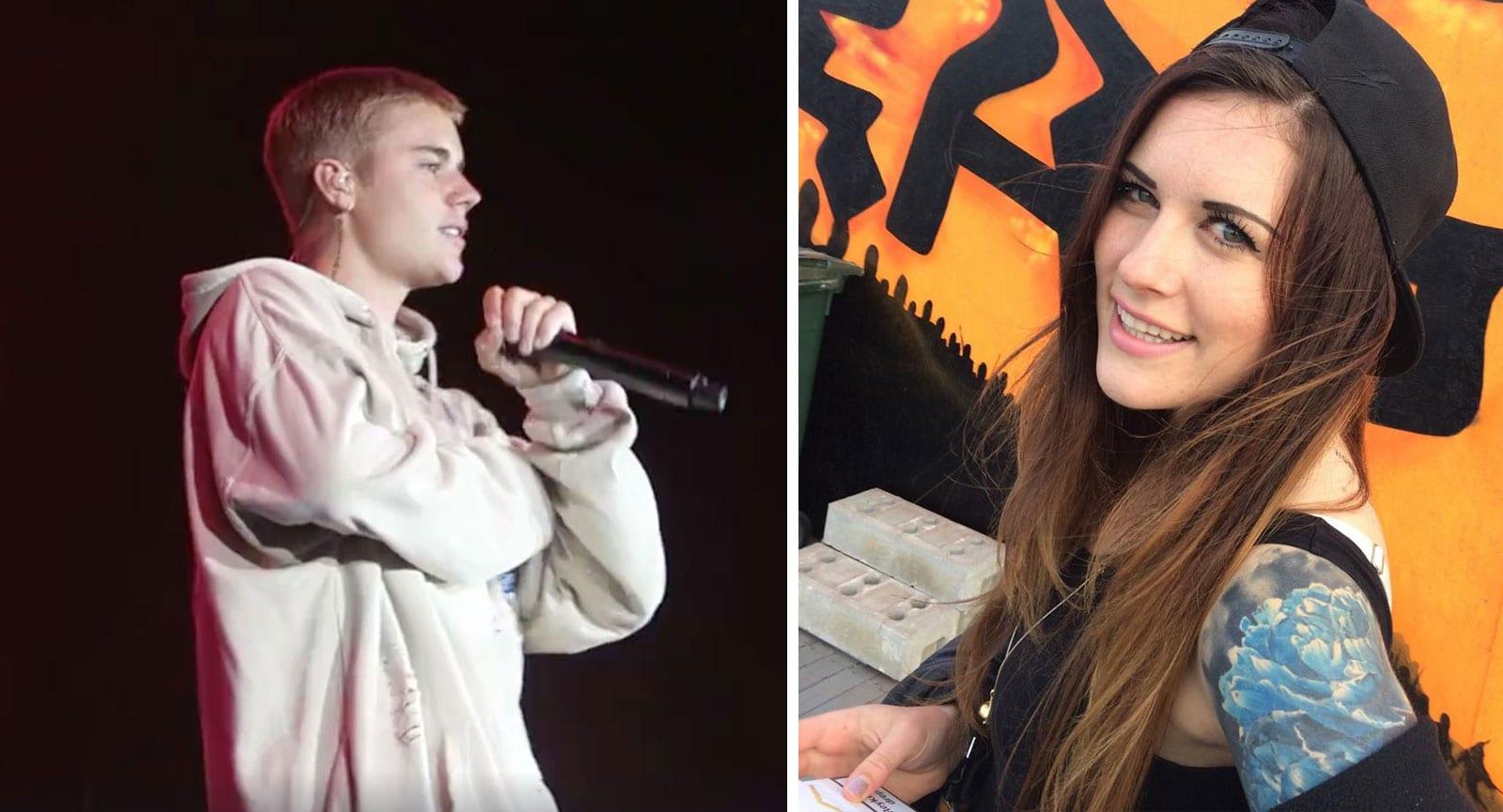 14 ára stelpur hóta blaðamanni sem skrifaði slæman dóm um tónleika Justins Bieber í Kórnum