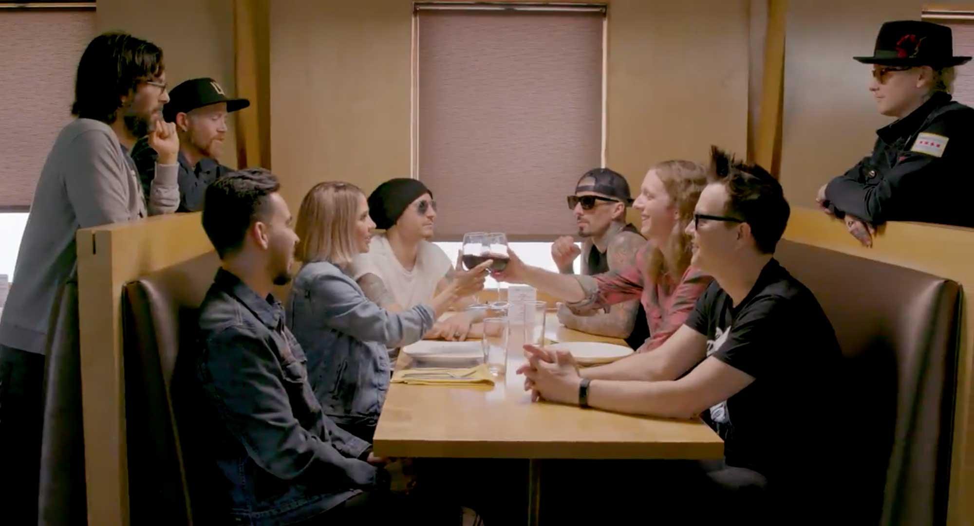 Linkin Park og Blink 182 verða (tímabundið) Blinkin Park