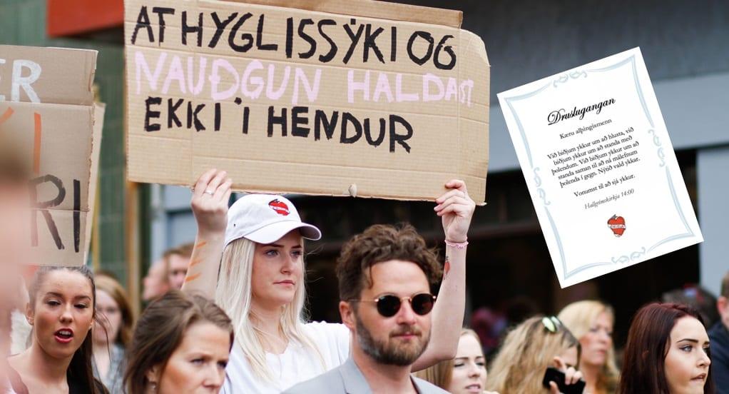 """Skora á ráðamenn og lögreglu að mæta í Druslugönguna: """"Innan ykkar raða eru enn þá einstaklingar sem bregðast okkur"""""""