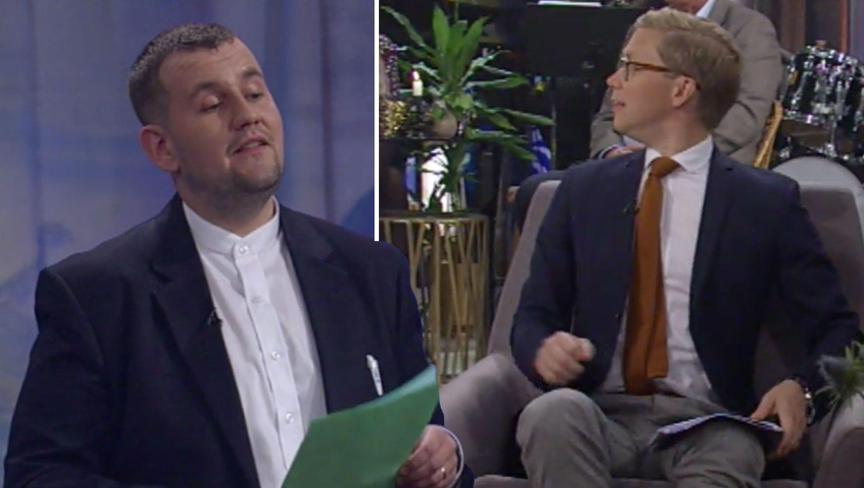 """Dóri DNA grillaði Gísla Martein í beinni á RÚV: """"Að minnsta kosti eldast beinin þín"""""""