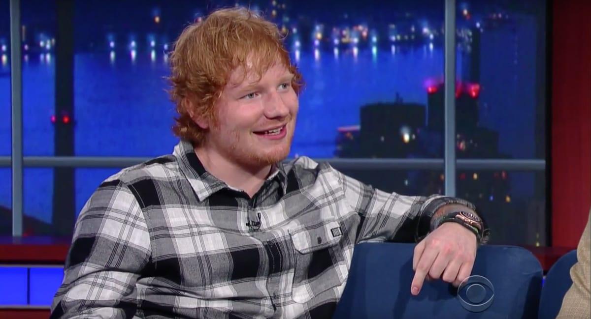 Ed Sheeran kvæntist í leynilegri athöfn