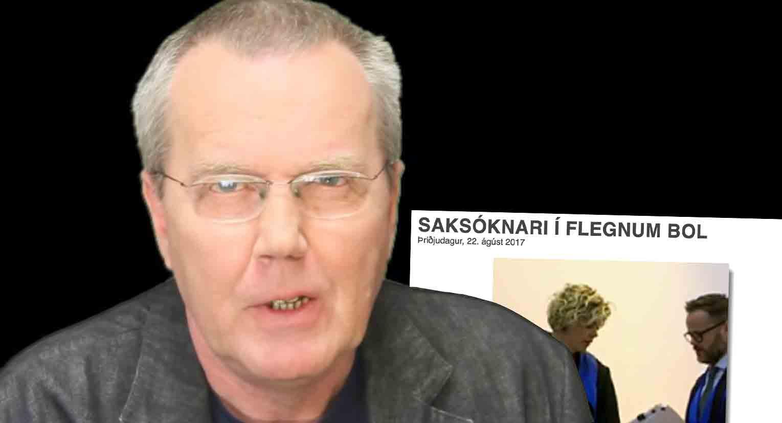 """Eiríkur Jónsson um fréttina um fleginn bol saksóknara: """"Ekki skjóta sendiboðann"""""""