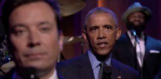 Obama fór yfir ferilinn með Jimmy Fallon á fáránlega sexí hátt