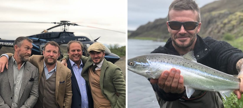 """Beckham ánægður með dvölina á Íslandi: """"Fallegt land"""