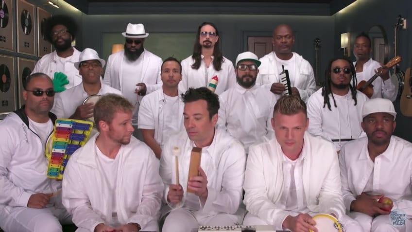 Fallon tók lagið með Backstreet Boys og útkoman er mögnuð