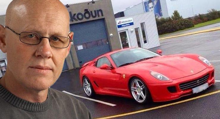 Eigandi dularfulla Ferrari-sportbílsins fundinn