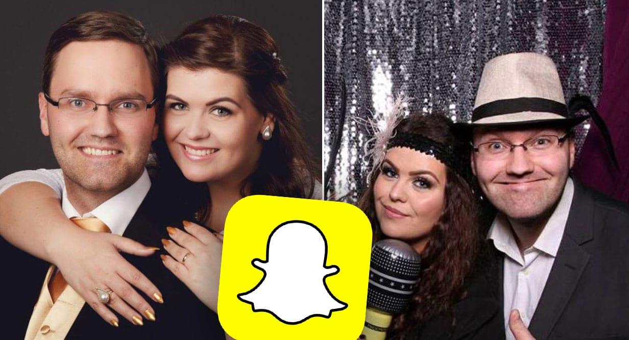 Á leið í smásjárfrjóvgun og fjallar um það á Snapchat