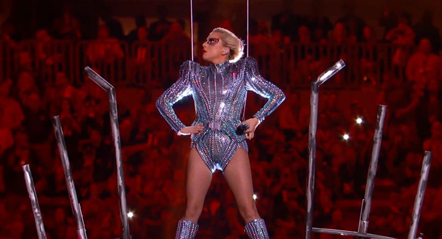 Sjáðu stórkostlega hálfleikssýningu Lady Gaga á Ofurskálinni