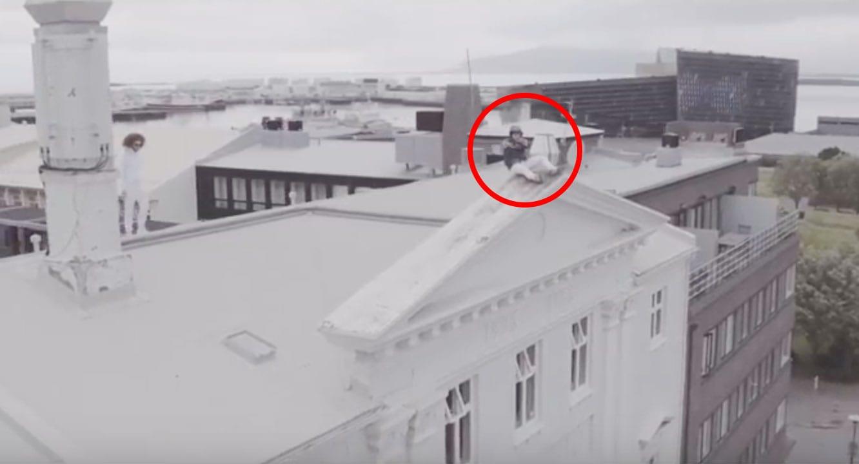 """Gauti dansar á kennileitum í Reykjavík í nýju myndbandi: """"Var að skíta í brækurnar í fullt af þessum tökum"""""""