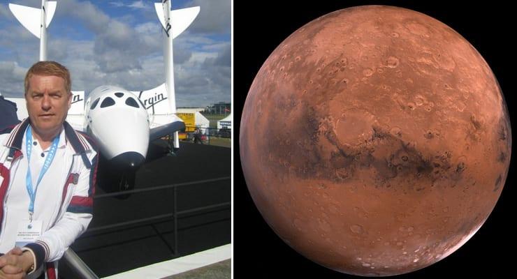 Gísli geimfari í sýndarferð Nasa til Mars