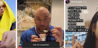 """Instagram stjörnurnar svara spurningum fylgjenda í nýrri uppfærslu: """"Er pabbi þinn feitur eða massaður?"""""""