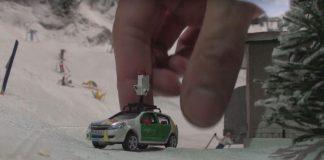 Pínulítil undraveröld komin á Google Street View