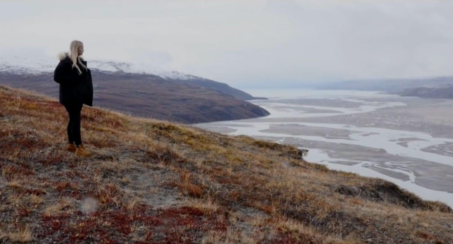 Var of fljót á sér að dæma Grænland sem sigraði hjarta hennar að lokum