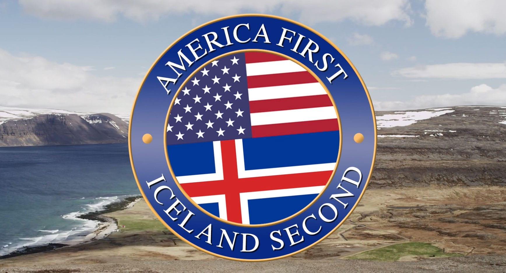 Donald Trump beðinn um að setja Ísland í annað sæti