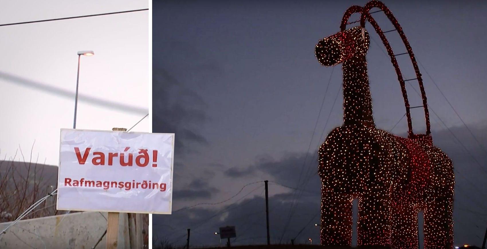 """Þrír ungir piltar reyndu að kveikja í Jólageit IKEA: """"Fengu taugaáfall þegar þeir sáu gæslubílinn"""""""