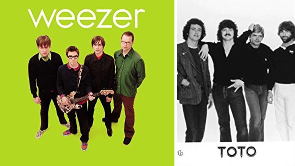 """Toto """"hefna"""" sín á Weezer og gefa út ábreiðu af Hash Pipe"""