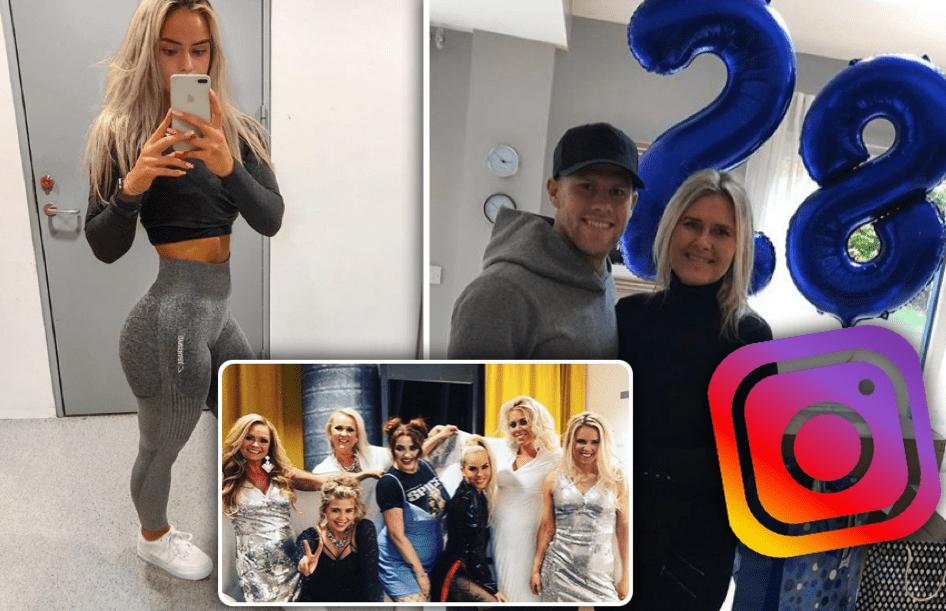 Þetta eru myndirnar sem slógu í gegn á Instagram um helgina - Abba hitti Spice Girls!