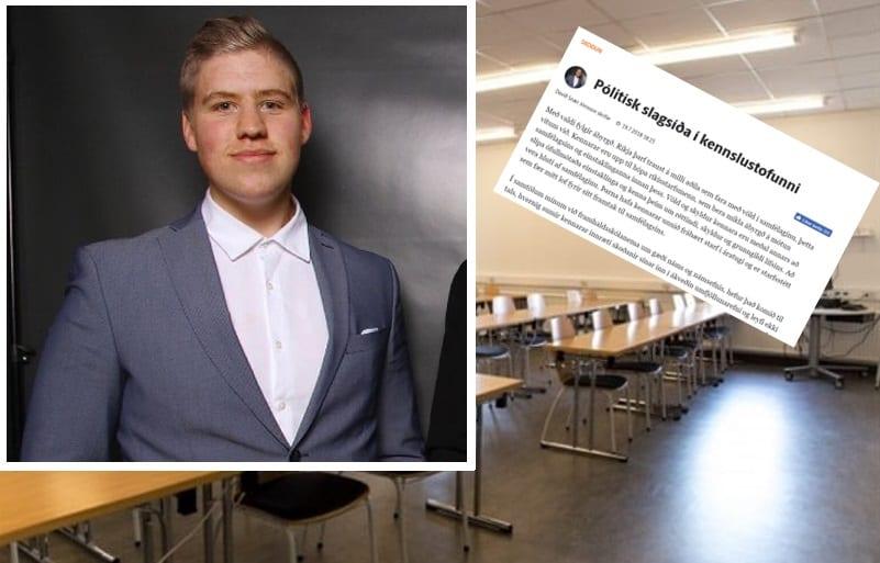 Örskýring: Formaður SÍF rekinn eftir umdeilda blaðagrein